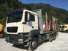 2009 MAN 33.480 6X6 Holztrans m