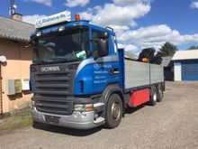 2008 SCANIA R480 Cab chassis tr