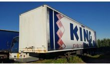 1991 Van Hool Box trailer Close