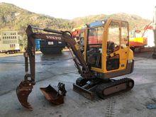 2008 Volvo EC15B Mini excavator