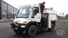 2001 Unimog U400 4x4 Flatbed-dr
