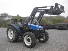 2004 NEW HOLLAND TN75D Wheel tr