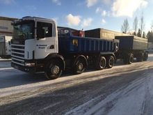 2001 Scania R124, 8x4 Tipper
