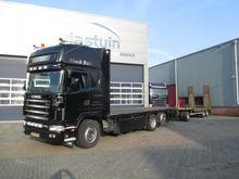 2001 Scania 144-530 Dropside tr