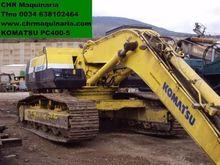 Used KOMATSU PC400-5