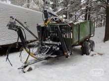 Used Forestry traile
