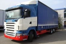 2006 SCANIA R 420 Curtainsider