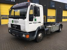 1998 MAN 10.163 Hook lift truck