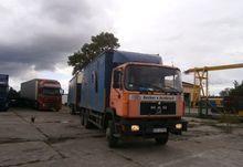 1993 MAN 26.375 Box truck