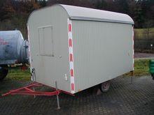 2014 BW 1/K Closed box trailer