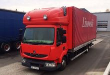 2010 Renault Midlum Curtainside