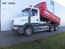 2002 Scania T114.380 6X2 DUMPER