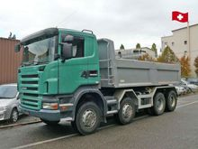 2008 SCANIA R440 CB Tipper