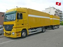 2006 Actros 1846 Box truck