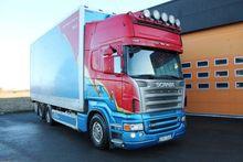 2007 Scania R420LB6X2HNB Box tr