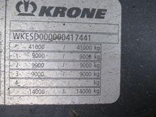 Used 2008 KRONE Refr
