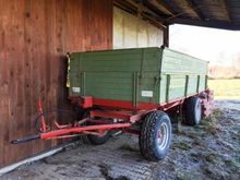 1981 Tebbe D 65 Tipper trailer