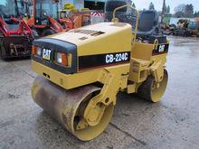 1995 CAT CB 224 C Road roller