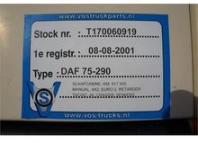 2001 DAF 75-290 Manual Retarder