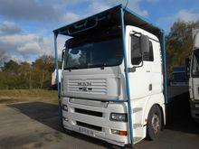 2001 MAN TGA 410 Flatbed truck