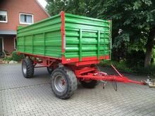1972 Fortuna K80 Tipper trailer