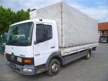 Mercedes-Benz Atego 815 Curtain