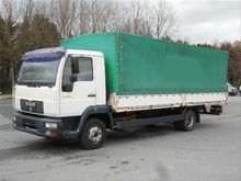 MAN L2000 8.180 LE Curtainsider