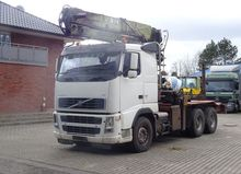 2007 Volvo FH 520 6x4 Kran Log