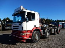 2005 Scania P420 8x4 Kipper saw