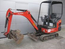 KUBOTA KX015-4 Mini excavator