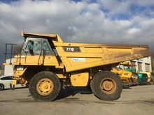 2001 Caterpillar 771 D Rigid du