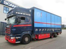 2007 SCANIA R500 Box truck