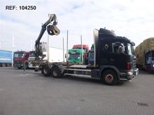 2003 Scania 164.480 6X2 LOGLIFT