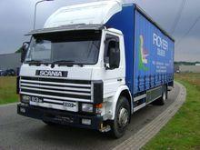 1996 Scania 156000km Curtainsid