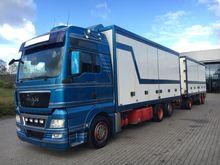 2009 MAN TGX 26.480 Box truck