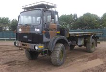 Iveco 110-16 4x4 Flatbed truck