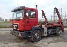 1997 MAN 19-343 Skip loader tru