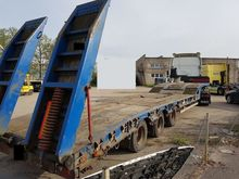 2001 MONTRACON Low loader semi-