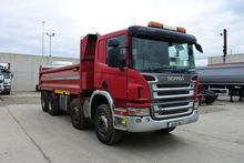 2006 SCANIA P340 Tipper