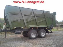 Fliegl TDK 180 Farm trailer