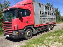 1998 SCANIA Livestock truck