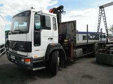 1994 VOLVO fl7 Flatbed truck