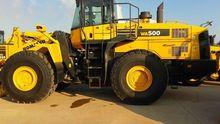 2016 KOMATSU WA500-6 wheel load