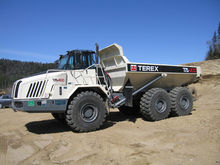 2015 TEREX TA400 articulated du