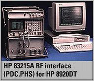 Keysight Agilent HP 83215A RF I