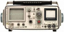 Tektronix 1502 Portable TDR Cab