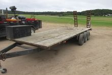tripple axel flate bed trailer