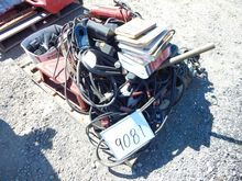 PALLET OF JUMPER CABLES, WIRE,