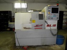 Haas SL-10 CNC turning center