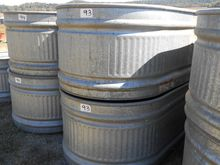 QTY 2) CATTLE WATER TANKS
